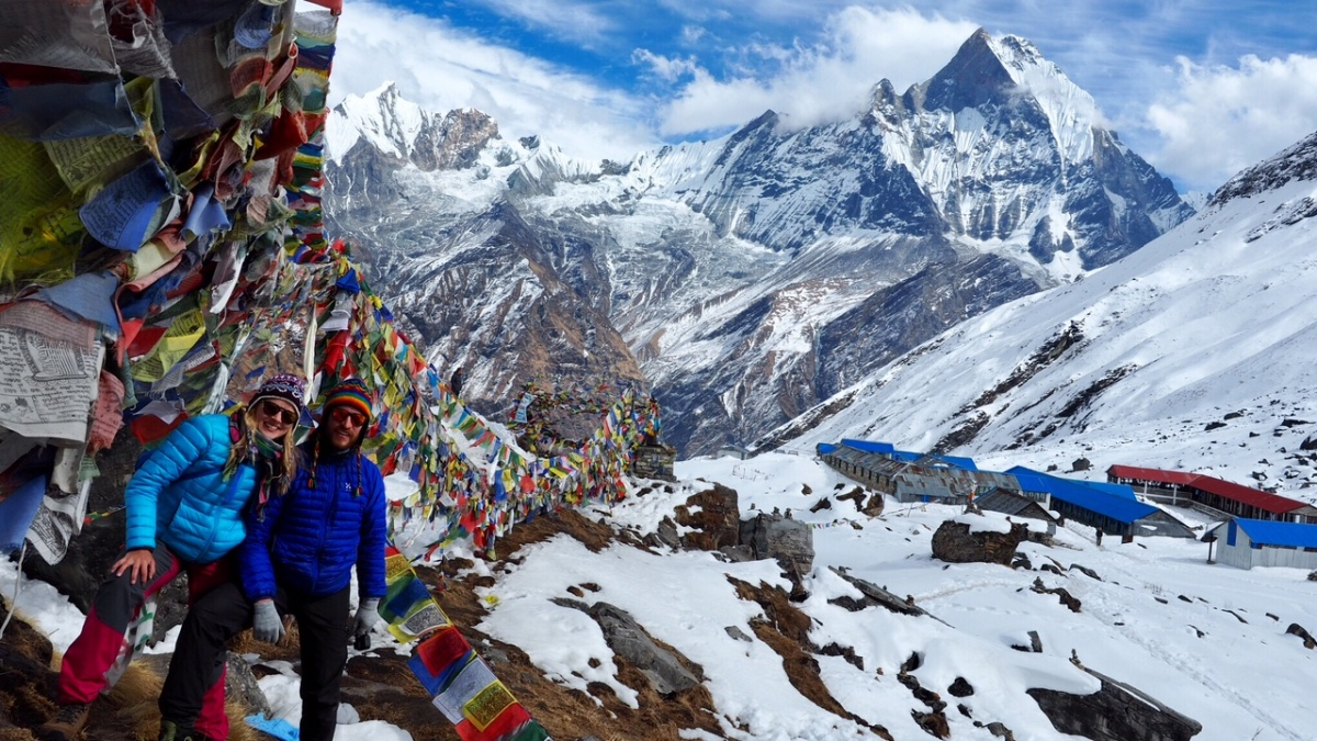 When the going gets tough, the tough gets going - Annapurna Base Camp Trek
