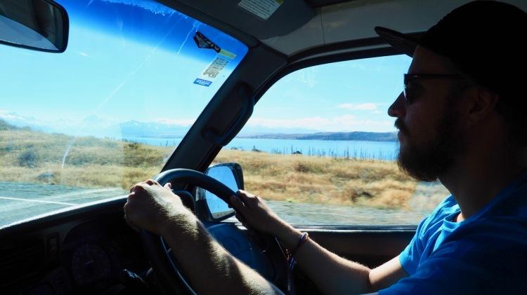 Campervan travel in New Zealand